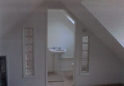 Loft conversion with en-suite bathroom